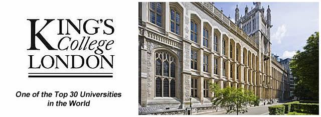 Kings College London - Королевский колледж Лондона